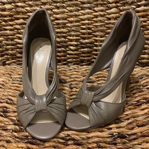 Nice Taupe Heels from Aldo